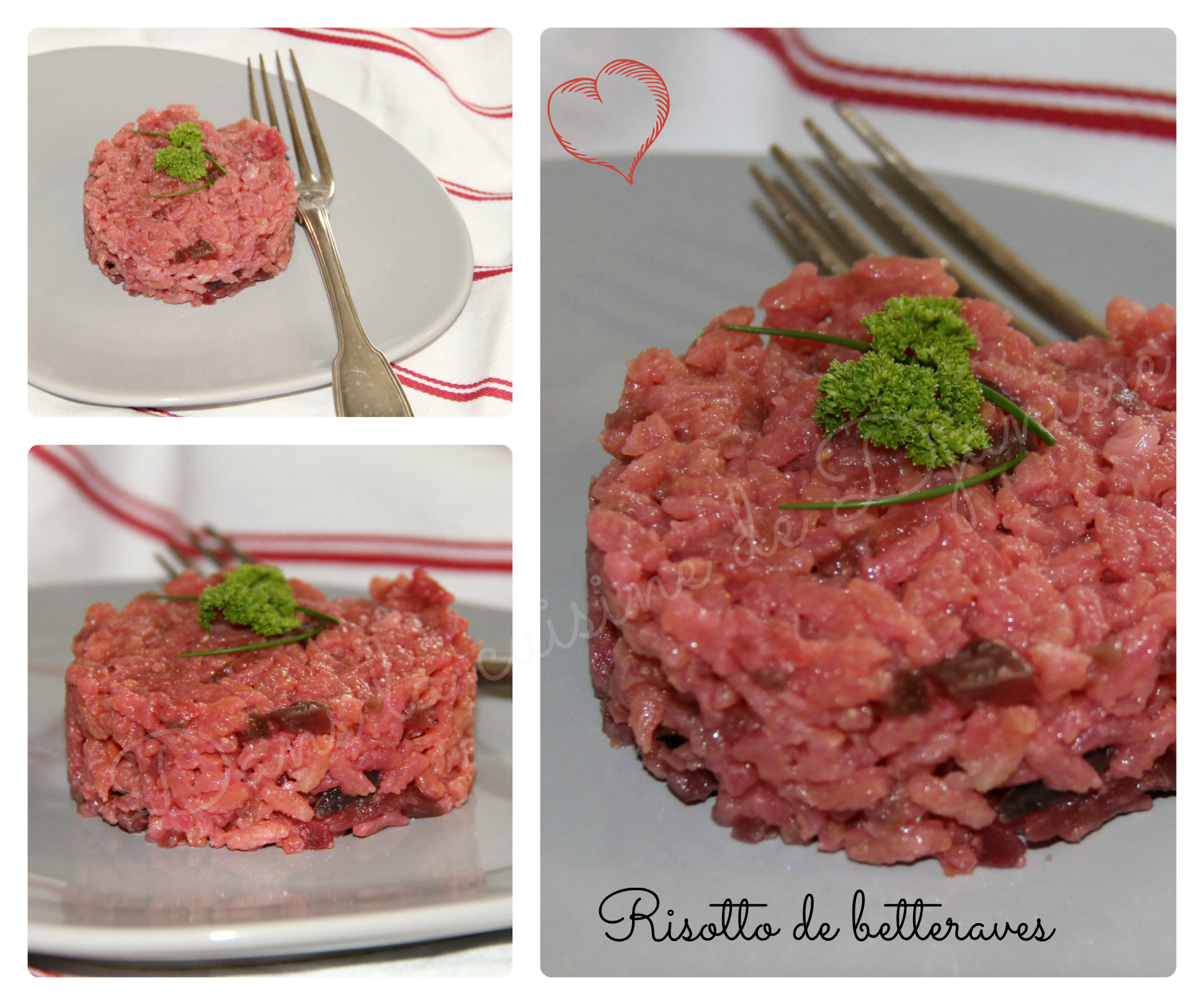 Risotto de betteraves