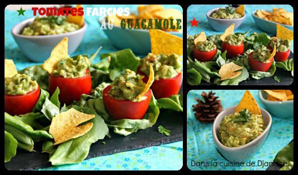 Tomtes farcies au guacamole